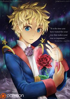 The Little prince - Ma rose by Nekozumi.deviantart.com on @DeviantArt