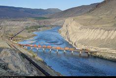 RailPictures.Net Photo: IC 2716 Canadian National Railway GE C44-9W (Dash 9-44CW) at Ashcroft, British Columbia, Canada by Tim Stevens