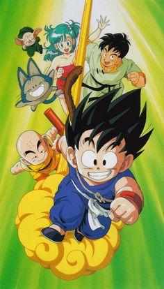 80s & 90s Dragon Ball Art — artbookisland:   Another scan from Daizenshuu TV...
