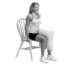 Seated Pillow Squeeze