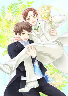 spamano wedding ^^
