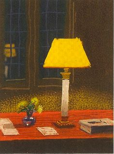 David Hockney Light Desk Den Window art painting
