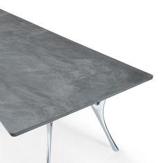Tavolo da riunione di design Pegaso con piano in cemento