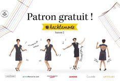 Retrouvez la seconde édition du concours #hacklamode organisé par Louis Antoinette. Un patron gratuit à télécharger, et 1500€ de cadeaux à la clé !