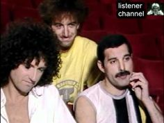 Queen - Live Aid - Backstage Interview Before The Show. Stole the show!