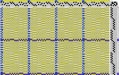 Delicate handtowels on four shafts The pattern for these handtowels is known as 2 fold Ms and Os. This pattern is from the wonderfu...