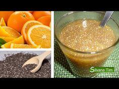 Postre NATURAL. GELATINA DE NARANJA y semillas de CHÍA - YouTube CONSOLIDACION por la naranja