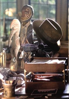 Indy's desk.