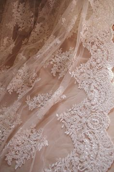bead lace fabric bridal dress lace fabric by LaceFun on Etsy