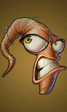 Earth worm Jim.