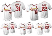 Come see the Cardinals take on the Kansas City Royals! 25,000 fans ages 16 and older will receive an adult 1985 mystery jersey! Vince Coleman? Jack Clark? Tom Herr? Todd Worrell? Bob Forsch? You won't know which until you walk through the gates of Busch Stadium on Sunday, June 14!