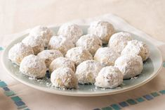 Mexican Wedding Cookies - this is not quite how I make them but a good base recipe to work from and make it your own.