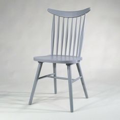 Winsor Stuhl in hellgrau; Windsor chair light grey