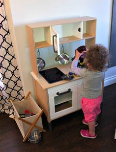 creating domestic bliss: Ain't Nobody got time for that!  ikea play kitchen