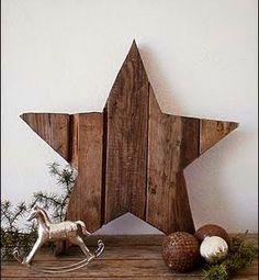Pallet Star.   #pallets  #decor  #diy