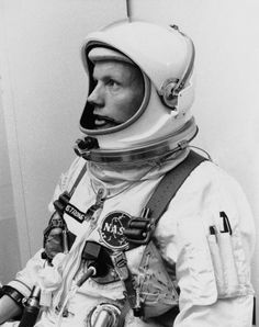 """Neil Armstrong, for having """"the right stuff"""" and being brave enough to take that giant leap for mankind."""