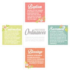 Why are ordinances important in my life? from the blog All Things Bright and Beautiful