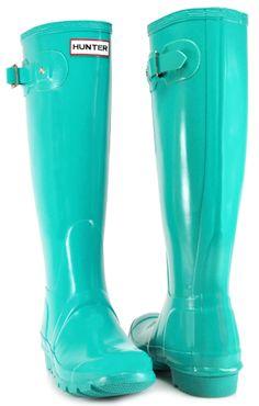 Similiar Teal Blue Green Hunter Boots Keywords