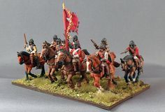 English Civil War Cavalry, Warlord 28mm