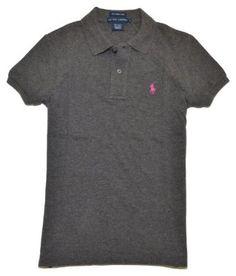 Ralph Lauren Women The Skinny Polo Pony Logo T-Shirt