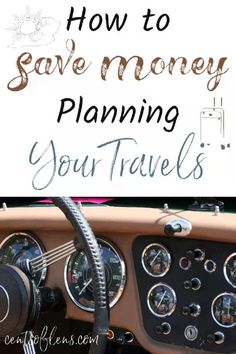 Travelling is one of those things that we all want to do but feel like we don't have enough money to do. With a few little tricks here and there, you can save money while planning your travels and be on your way to a new destination having spent, well, less than an arm and a leg. With these easy tips, you can have peace of mind knowing that you saved as much money as you could on the basic travel necessities, leaving much more money for yourself to splurge while on vacation. #travel…