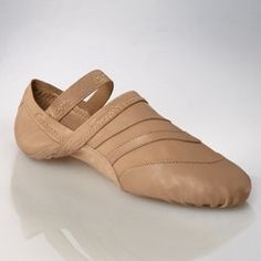 "The Capezio Freeform Shoe molds to the foot and is designed to be ""barely there"" with the help of the upper being constructed with soft durable sheep skin glove leather and Nylon/Lycra Spandex. Other"