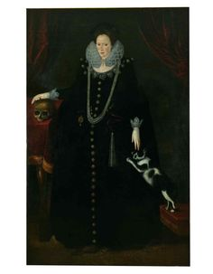 Lady Philippa Coningsby by Robert Peake the Elder (c1605).