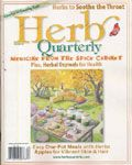 Herb Quarterly brings readers the joy of herbs with each new season. Each issue introduces readers to new herbs and fascinating herbal lore, provides tips on hard to grow varieties and medicinals, showcases gardens from around the world, and tempts the palate with seasonal menus and tantalizing recipes built around herbs and edible flowers