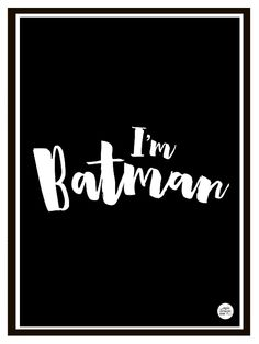 """""""BATMAN"""" kidsroom print / poster in size by Epic Design Shop. Modern print for boys and girls who love Batman! Design Shop, Print Design, Scandinavian Kids Rooms, A3 Size, Nursery Inspiration, Modern Prints, Kidsroom, Print Poster, Boys"""