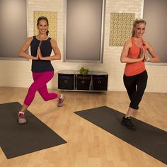Rock Your Leggings: The 6-Minute Upper-Thigh Workout. WOW!!!! I'm glad this isn't a long workout. My legs are hurting right now! Love this one!