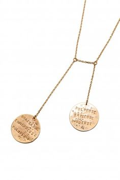 Alice Hubert Injurieuses double necklace - Kreateurs - french designers