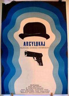 French film 1965s Le majordome. Polish poster by by artwardrobe, $43.80