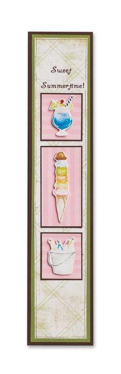 Sweet Summertime! Classic Beach and Summer Stickers #Scrapbooking Border Idea from Creative Memories    http://www.creativememories.com
