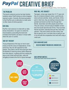 So Laci Like : creative brief | Biz | Pinterest
