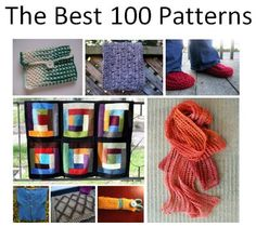 Explore the best 100 free knitting patterns from 2012. Included are free knit scarves, knit afghans, knit cowls and more.