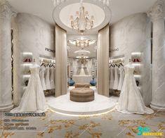 Bridal Boutique Interior, Boutique Interior Design, Wedding Store, Wedding Dress Shopping, Boutique Window Displays, Fashion Showroom, Design Studio Office, Luxury Wedding Decor, Bridal Stores
