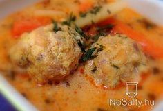 Transylvanian meatball soup with tarragon Hungarian Cuisine, Hungarian Recipes, Hungarian Food, Pasta Recipes, Cooking Recipes, Meatball Soup, Veggie Soup, Food 52, Soups And Stews
