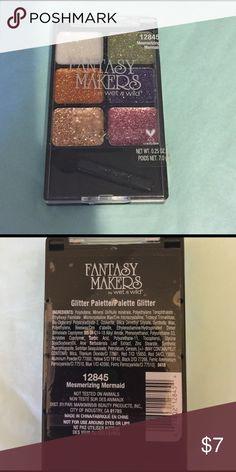 Fantasy Makers glitter palette Glitter palette in 'mesmerizing mermaid' wet n wild Makeup Eyeshadow
