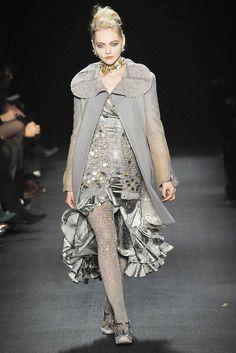 Zac Posen Fall 2009 Ready-to-Wear Fashion Show Collection