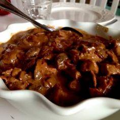 Kinesisk gryta med hemmagjord sötsur sås - Mitt kök
