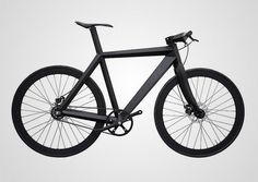 BME X-9 Nighthawk Bicycle by Brano Meres. Angular and Stealthy