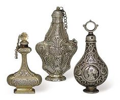Vintage perfume bottles<3