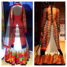 Phulkari: Sexy back! Email us to get more info @ punjabcouturehouse@gmail.com