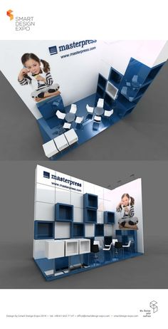 Our exhibition stand project for Masterpress.