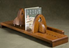 Adjustable Bookshelf by Jeff Antkowiak Wood Art, Bookshelves, Bookends, Arts And Crafts, Woodworking, Wooden Art, Bookcases, Book Shelves, Art And Craft