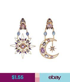 Earrings Rhinestone Boho Sun Moon Drop Dangle Stud Earrings Jewelry Women  Gift Tasteful  ebay   16c11e0166ed