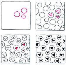 Afbeeldingsresultaat voor zentangle suzanne mcneill zentangle 4