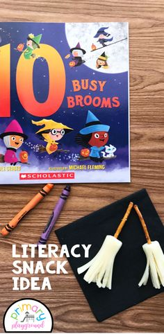Literacy Snack Idea Counting