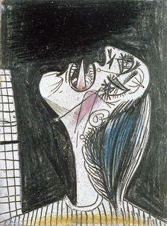 Pablo Picasso. La femme qui pleure 2. 1937 year