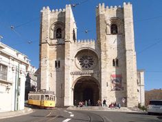 Lisbon Cathedral also known as Patriarchal Cathedral of St. Mary Major, Lisbon, Portugal